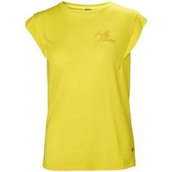 Odjeća Žene  Majice kratkih rukava Helly Hansen Siren Spring Žuta