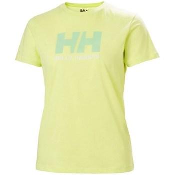 Odjeća Žene  Majice kratkih rukava Helly Hansen W Logo Tshirt Zelena