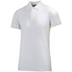 Odjeća Muškarci  Polo majice kratkih rukava Helly Hansen Crew Polo Bijela