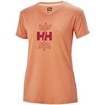 Odjeća Žene  Majice kratkih rukava Helly Hansen Skog Graphic Narančasta
