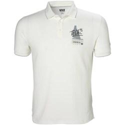 Odjeća Muškarci  Polo majice kratkih rukava Helly Hansen Racing Bijela