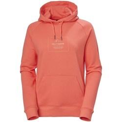 Odjeća Žene  Sportske majice Helly Hansen F2F Cotton Hoodie Red