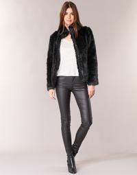Odjeća Žene  Hlače s pet džepova Vero Moda SEVEN Crna