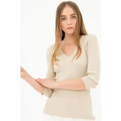 Odjeća Žene  Puloveri Fracomina FR21ST7004K43201 Bezbojna