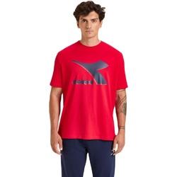 Odjeća Muškarci  Majice kratkih rukava Diadora Ss Shield Crvena