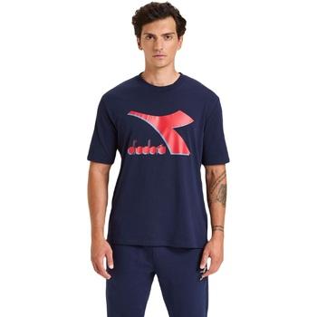 Odjeća Muškarci  Majice kratkih rukava Diadora Ss Shield Plava