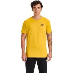 Odjeća Muškarci  Majice kratkih rukava Diadora Ss Chromia Žuta boja