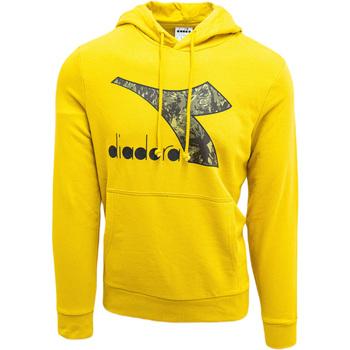 Odjeća Muškarci  Sportske majice Diadora Big Logo Žuta boja