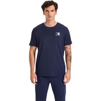 Odjeća Muškarci  Majice kratkih rukava Diadora Ss Chromia Plava