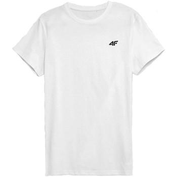 Odjeća Muškarci  Majice kratkih rukava 4F TSM352 Bijela
