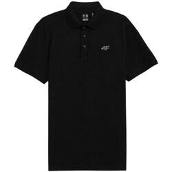 Odjeća Muškarci  Polo majice kratkih rukava 4F TSM356 Crna