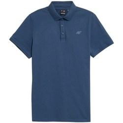Odjeća Muškarci  Polo majice kratkih rukava 4F TSM355 Blue