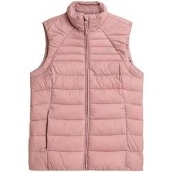 Odjeća Žene  Pernate jakne 4F KUDP001 Ružičasta
