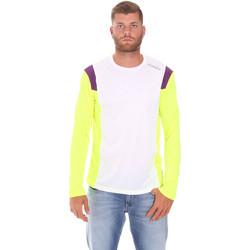 Odjeća Muškarci  Majice dugih rukava Diadora 102175720 Bijela