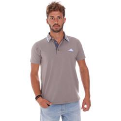 Odjeća Muškarci  Polo majice kratkih rukava Bradano 509 Siva