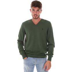 Odjeća Muškarci  Puloveri U.S Polo Assn. 38346 50357 Zelena