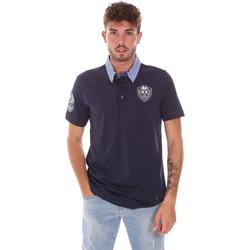 Odjeća Muškarci  Polo majice kratkih rukava Gaudi 911BU64038 Plava