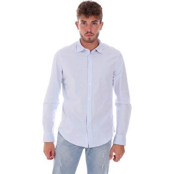 Odjeća Muškarci  Košulje dugih rukava Gas 151133 Plava