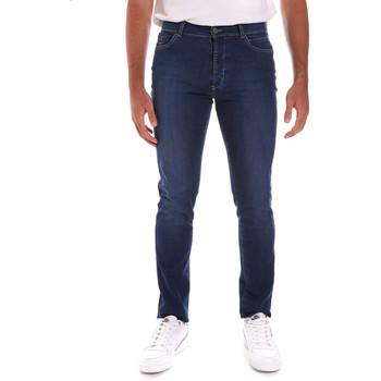 Odjeća Muškarci  Slim traperice Navigare N651020 Plava