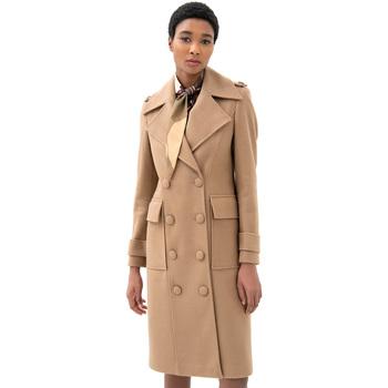 Odjeća Žene  Kaputi Fracomina F321WC1006W50001 Bež