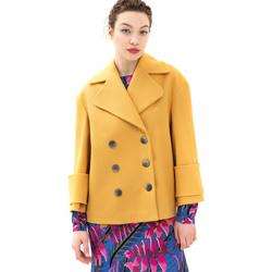 Odjeća Žene  Kaputi Fracomina FR21WC1013W49301 Žuta boja