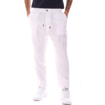 Odjeća Muškarci  Hlače Gaudi 911FU25018 Bijela