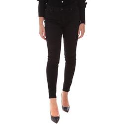 Odjeća Žene  Slim traperice Fracomina FP21WV8013D40402 Crno