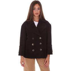 Odjeća Žene  Kaputi Fracomina FR21WC1013W49301 Crno