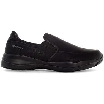 Obuća Muškarci  Slip-on cipele Lumberjack SMA9402 002 S01 Crno