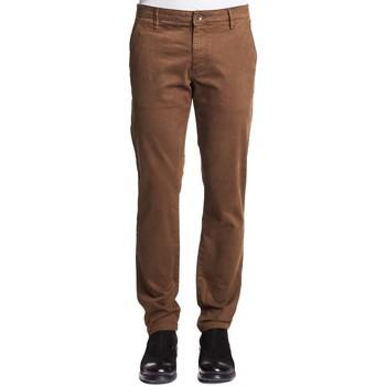 Odjeća Muškarci  Chino hlačei hlače mrkva kroja Gaudi 121GU25006 Smeđa