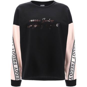 Odjeća Žene  Sportske majice Freddy F1WSDS4 Crno