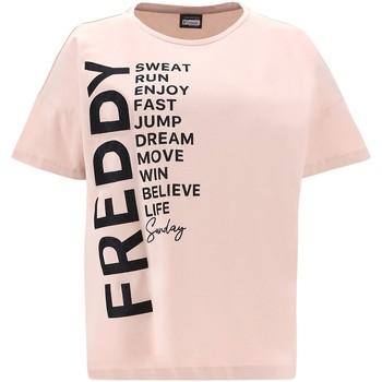 Odjeća Žene  Majice kratkih rukava Freddy F1WSDT1 Ružičasta