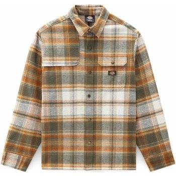 Odjeća Muškarci  Košulje dugih rukava Dickies DK0A4XGUMGR1 Zelena