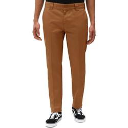 Odjeća Muškarci  Chino hlačei hlače mrkva kroja Dickies DK0WE872BD01 Smeđa