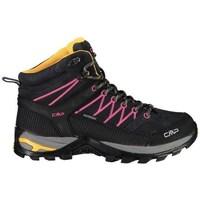 Obuća Žene  Pješaćenje i planinarenje Cmp Rigel Mid Wmn WP Crna