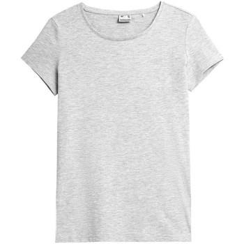 Odjeća Žene  Majice kratkih rukava 4F TSD350 Siva