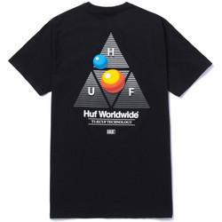 Odjeća Muškarci  Majice kratkih rukava Huf T-shirt video format tt ss Crna
