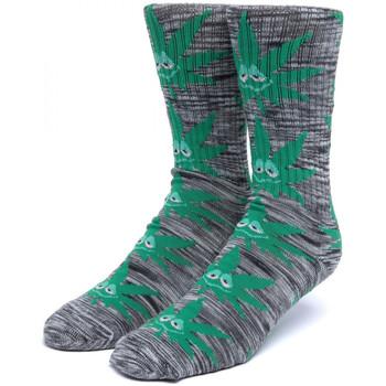 Modni dodaci Muškarci  Čarape Huf Socks tiedye green buddy pl Crna