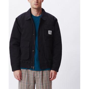 Odjeća Muškarci  Kratke jakne Obey Coltrane jacket Crna