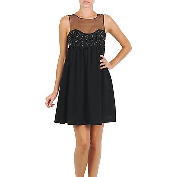 Odjeća Žene  Kratke haljine Manoush ROBE ETINCELLE Crna