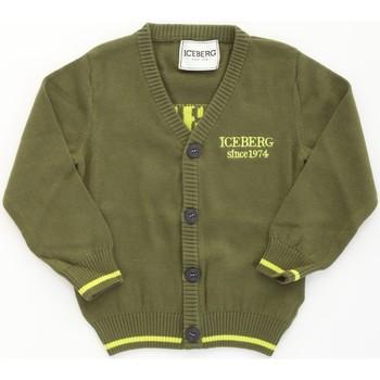 Odjeća Dječak  Veste i kardigani Iceberg 93381007 Militare