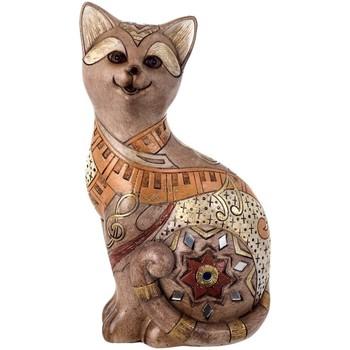 Dom Dekorativni predmeti  Signes Grimalt Slika mačka. Marrón
