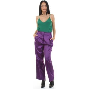 Odjeća Žene  Hlače od odijela Vicolo TX0372 Viola