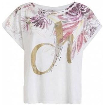 Odjeća Žene  Majice kratkih rukava Deha D4312210001 Bijela