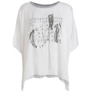 Odjeća Žene  Majice kratkih rukava Deha D43333 Bijela