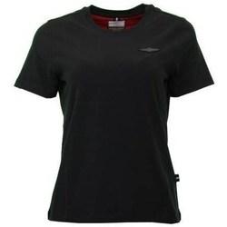 Odjeća Žene  Majice kratkih rukava Aeronautica Militare TS1755 Crna