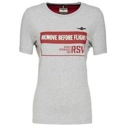 Odjeća Žene  Majice kratkih rukava Aeronautica Militare TS1754 Bijela