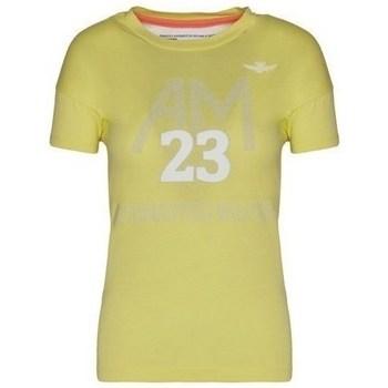 Odjeća Žene  Majice kratkih rukava Aeronautica Militare TS1871DJ51057 Žuta