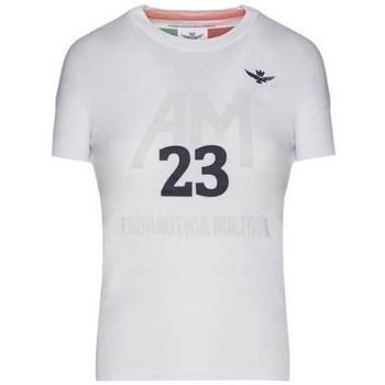 Odjeća Žene  Majice kratkih rukava Aeronautica Militare TS1871DJ51073 Bijela