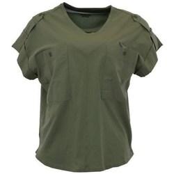 Odjeća Žene  Majice kratkih rukava Aeronautica Militare TS1883 Zelena